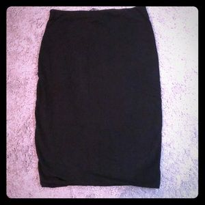 H&M skirt, stretchy and spandex material